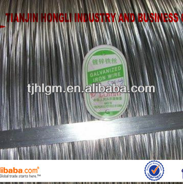 Directly Factory and Professional and biggest zinc coating galvanized wire 0.56---6.4mm