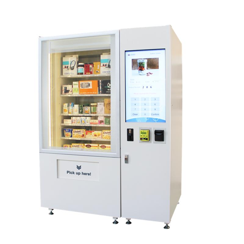 High-end-Automatische Frische Obst Blume Automaten mit Kühlsystem