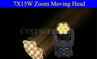 7 X 15w Rgbw Mini Zoom Bee Eye Led Moving Head Light Zoom Rgbw Led ...