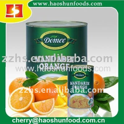 Canned Mandarin Orange Fresh in Syrup