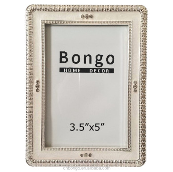 3.5x5 White Epoxy Enamel Photo Picture Frame - Buy White Enamel ...