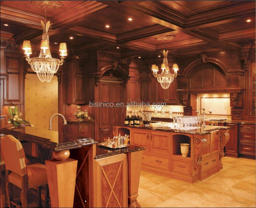 Lattest diseño elegante estilo americano de madera maciza mueble ...