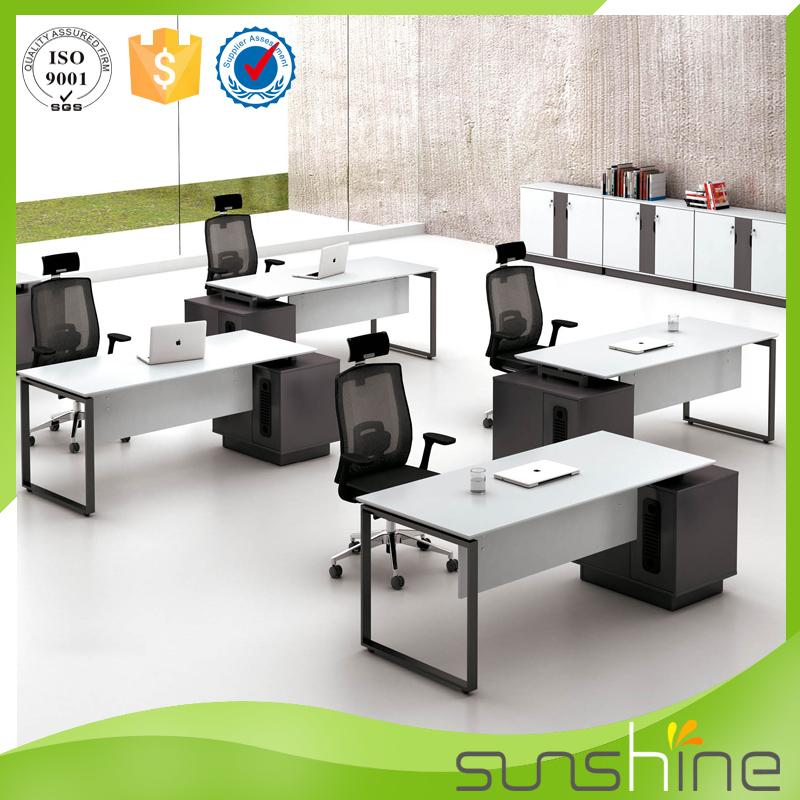 ys med05 moderno mobiliario de oficina de acero inoxidable