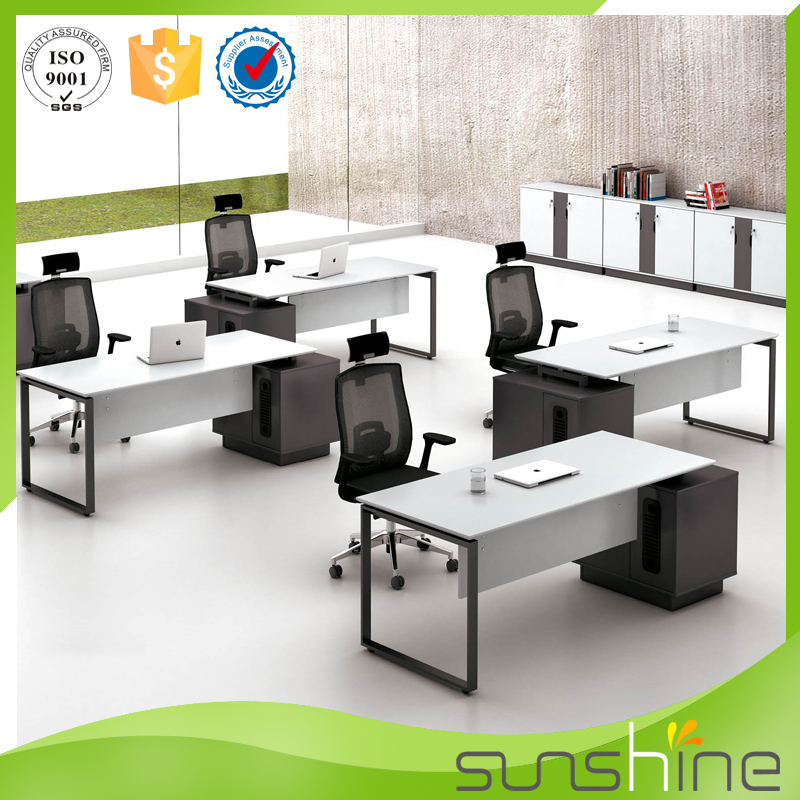 Ys med05 moderno mobiliario de oficina de acero inoxidable for Mobiliario oficina barato