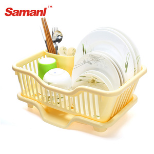 Hot Sale Colorful Plastic Dish Drying Rack Kitchen Dish Drainer Storage dish drainer