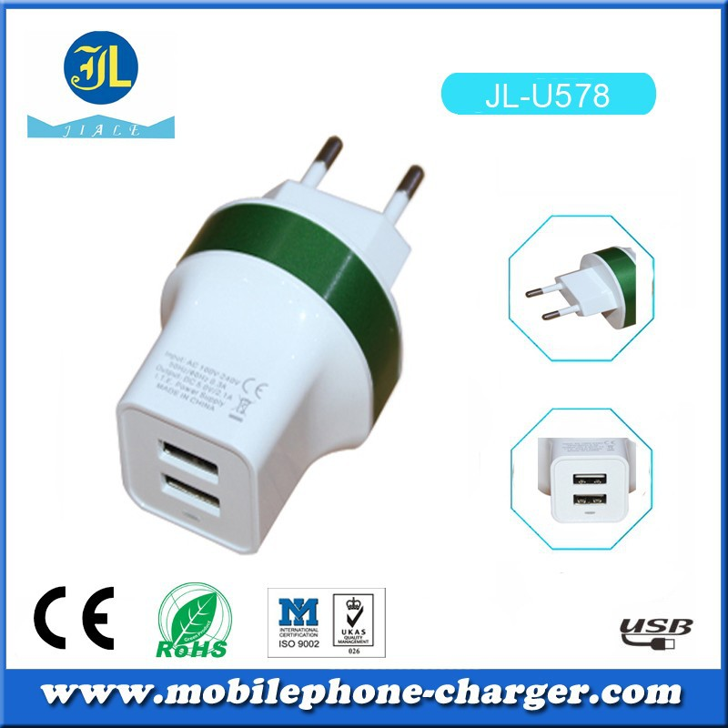 2015 NEW PRODUCT OEM WIRELESS CHAGRER EU PLUG MOBILE CHARGER W/MICRO USB CABLE FSAT CHARGING CHARGER