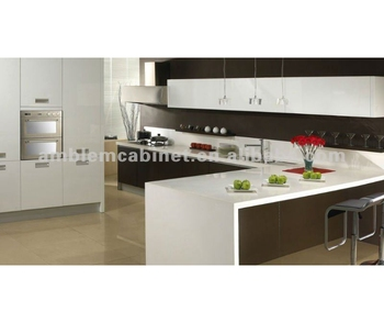 Lacquer Kitchen Cabinets With Breakfast Bar And Pantry High End Quality In  The Market - Buy Kitchen Cabinet,Kitchen Cabinets,Cupboard Product on ...