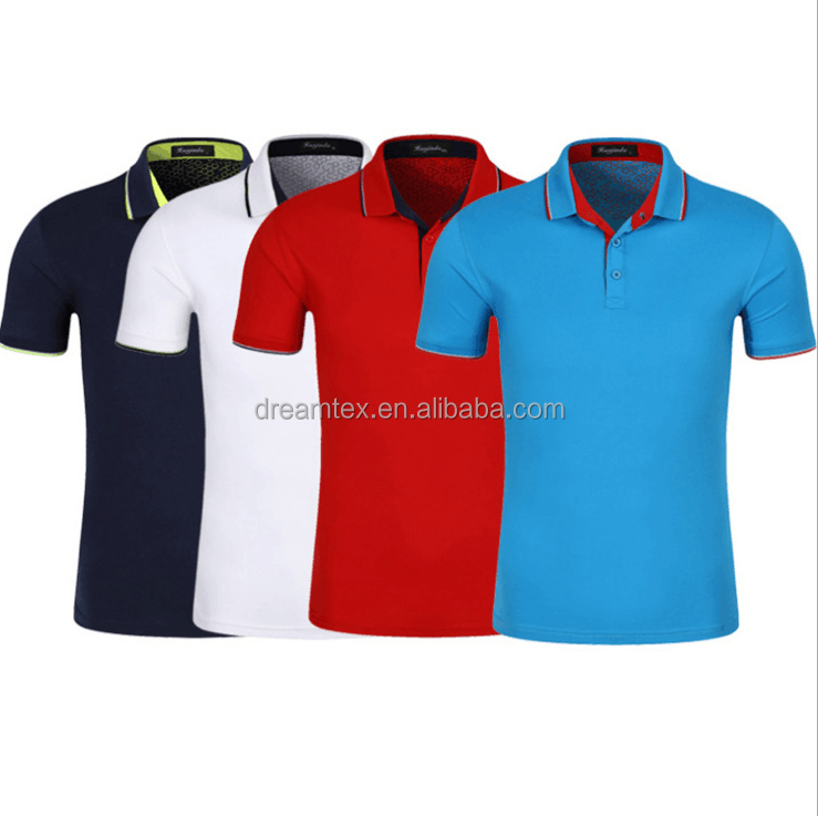 2018 Wholesale Custom Polo Shirt Embroidered Logo Clothing Custom