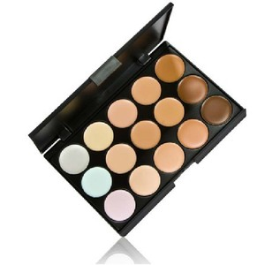New 15 Color Face Concealer Make Up Camouflage Palette