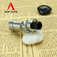 Alibaba Rofvape Chris B RTA Atomizer Point Blank Vape Mod Gas Station Wax Vaporizer Smoking Device
