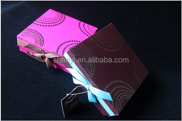 paper Laser cutting mini paper favor box air humidifier sweet gift boxes 2 layer chocolate boxes for wedding and party