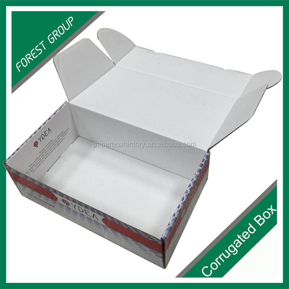 Custom Printed Luxury <strong>Gift</strong> Folding Flat Shipping Clothing Packing Paper Boxes