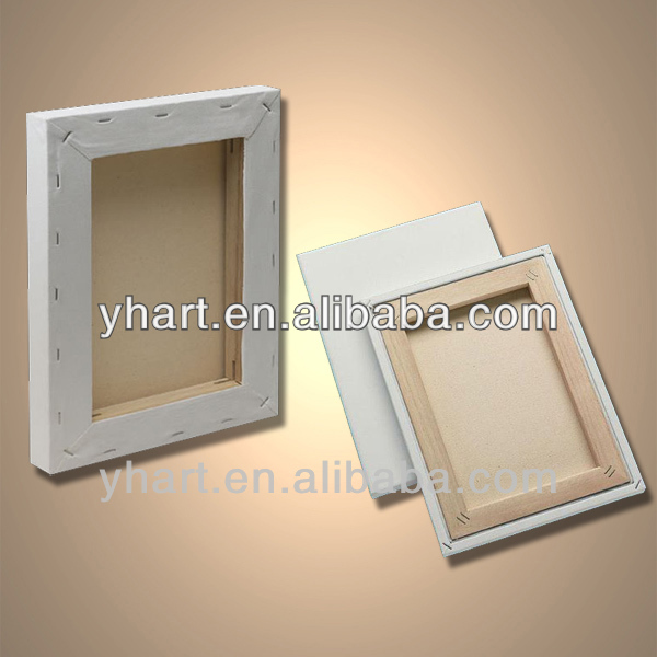 Stretched canvas for wood painting canvas frame