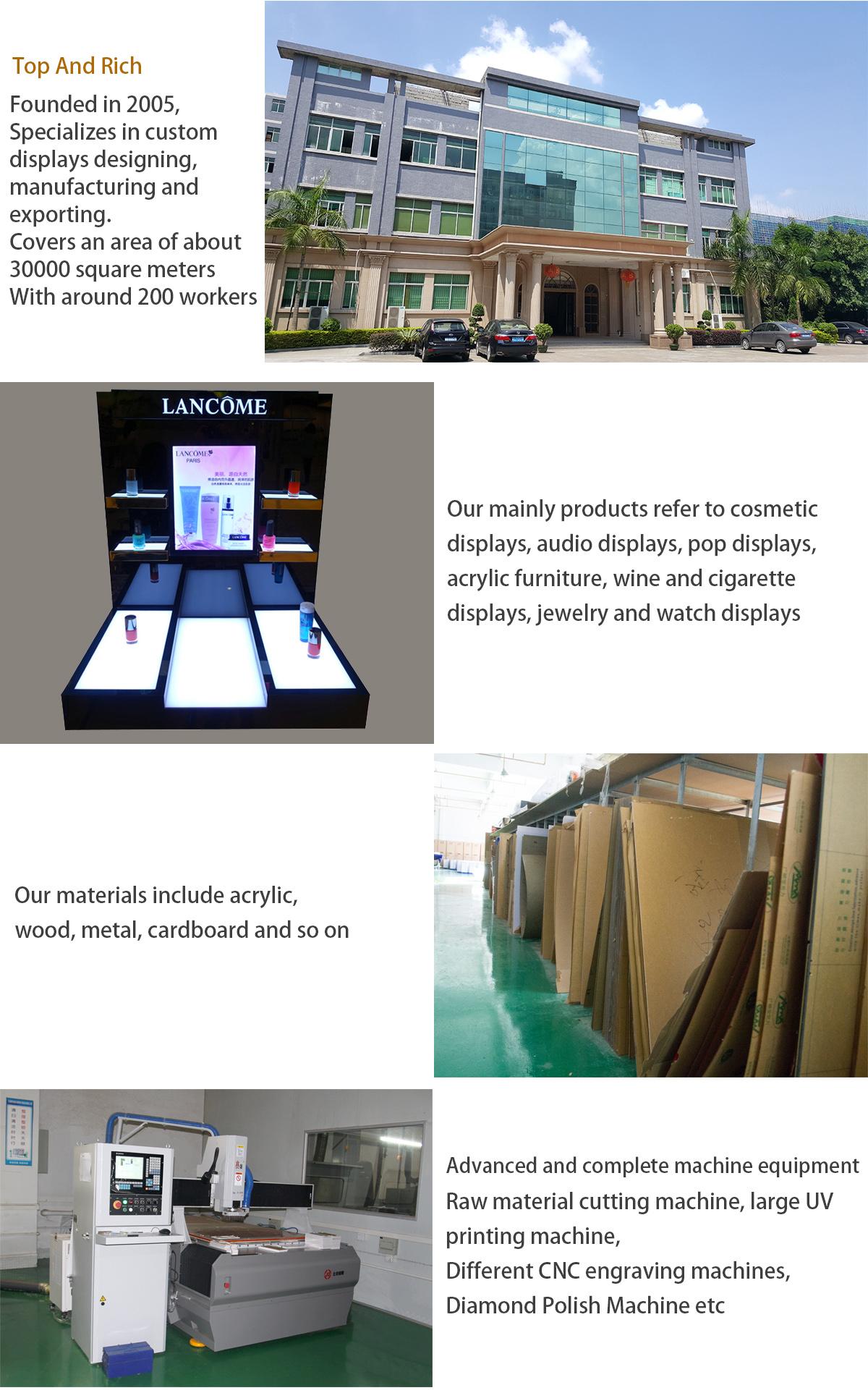 Moderne Design Zwei Ebenen Klar Acryl Portion Warenkorb Trolley Mit Rädern