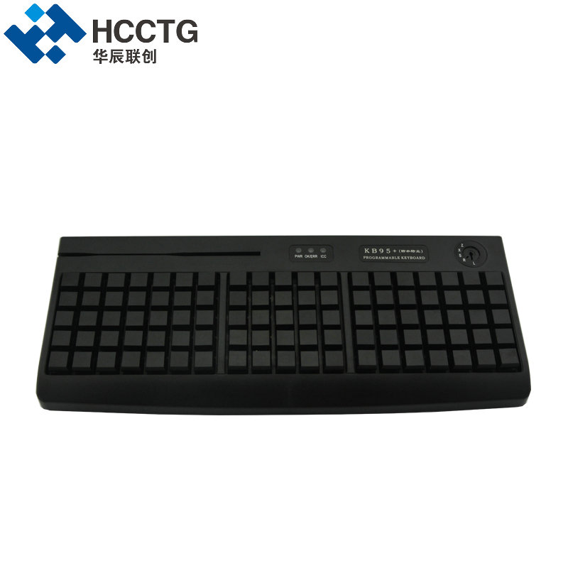 Soft-touch Cherry Mechanical Switch 95 Keys USB POS Programmable Keyboard KB95