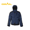 OEM service warm waterproof fashion custom logo mens ski jacket