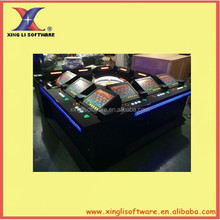 6/8/12 players electronic casino roulette machine/ adult game machine