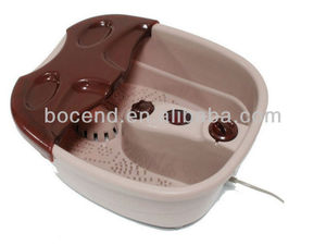 Electric vibrating massage heating foot tub massager