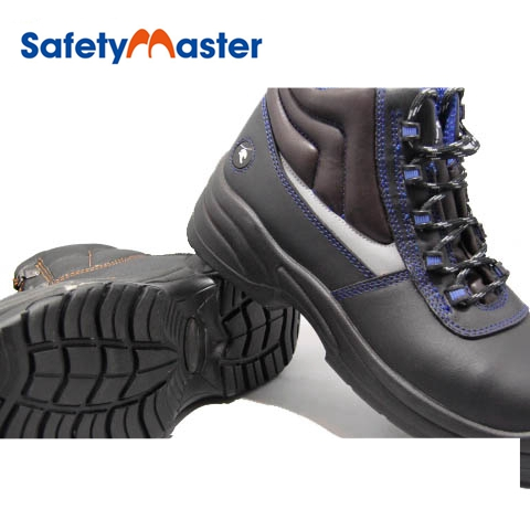 free shipping multiple colors the best attitude Safetymaster Cow Leather Safety Boots Wading Light Duty Safety ...