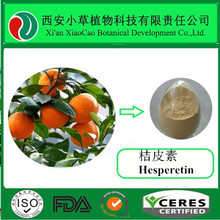 company manufacture pure natural citrus extract powder 98% hesperetin for antifungal