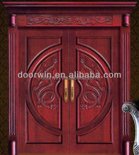 Luxurious mahogany simple solid wood door