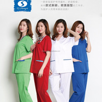 2018 new style OEM medical hospital scrubs uniform cherokee scrubs