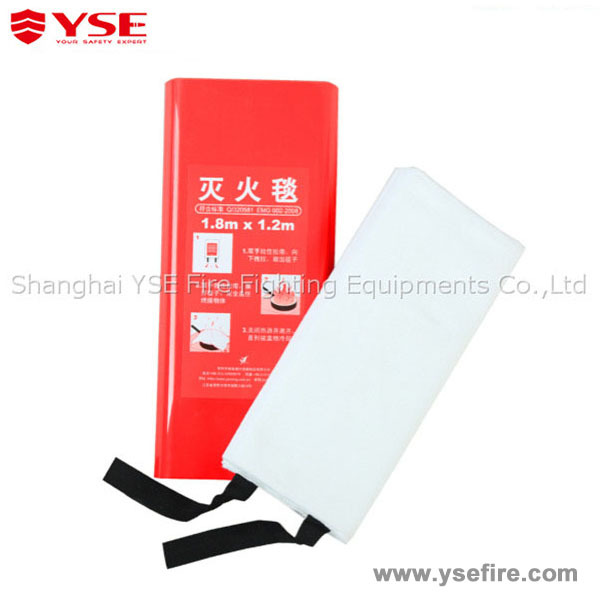Fiberglass fire resistant good price types of welding fire blanket