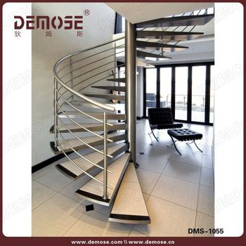 Beau Indoor Spiral Metal Staircase Railing Stairs Grill Design