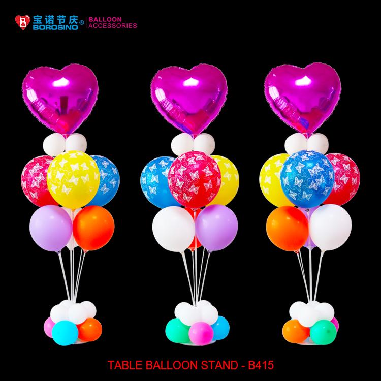 B wedding decoration balloon centerpiece