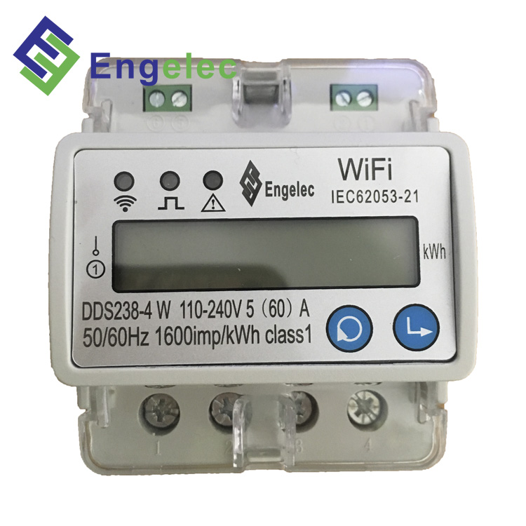 Smart WiFi Energy <strong>Meter</strong> App ON/OFF Control 110-240V,50/60Hz current voltage protection prepaid din rail <strong>meter</strong>