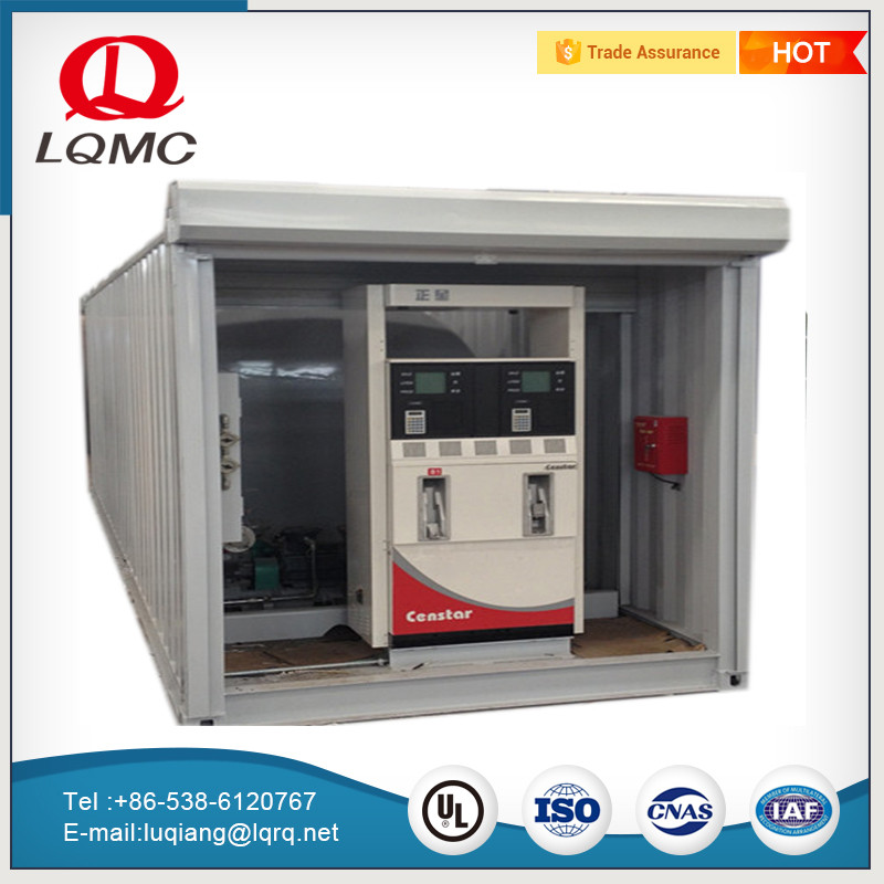 Containerized filling service equipment fuel tank gas petrol station