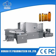 High efficiency PLC controlled automatic bottling filler of oral liquid,pharmaceutical syrup filling machine
