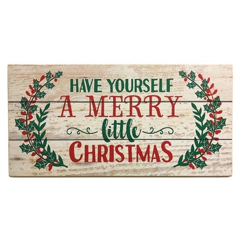 Christmas Wall Decor Decorative Wooden Signs With Quotes Sayings For Sign Product On Alibaba