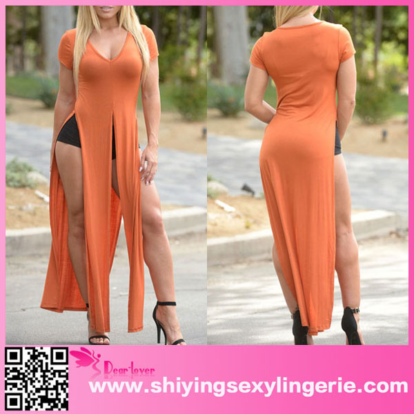 Latest Design Wholesale Fashion Stylish Lady Hot Girls Long Top ...