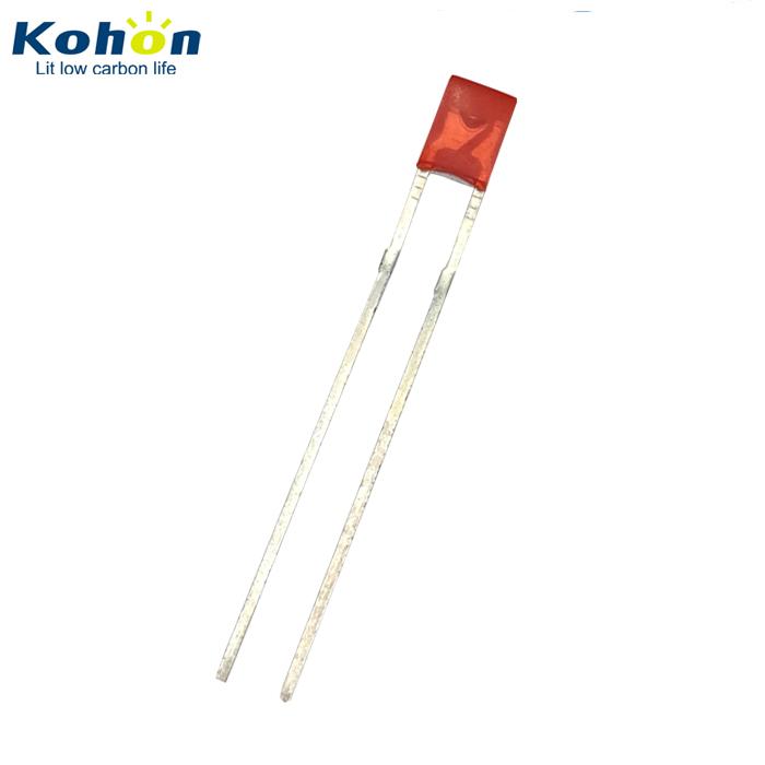 1000pcs 2x3x4 LED Red light emitting diode 1.8V~2.2V super bright 2*3*4 MM
