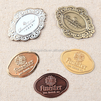 Stamping Metal Bronze Furniture Tags For Labeling Accessories