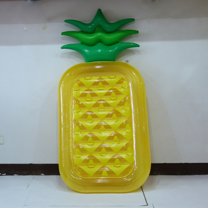Giant Pineapple Slice Inflatable Swimming Pool Float for Water Park Games