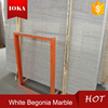 China Big Marble Slab White Begonia Hot Selling