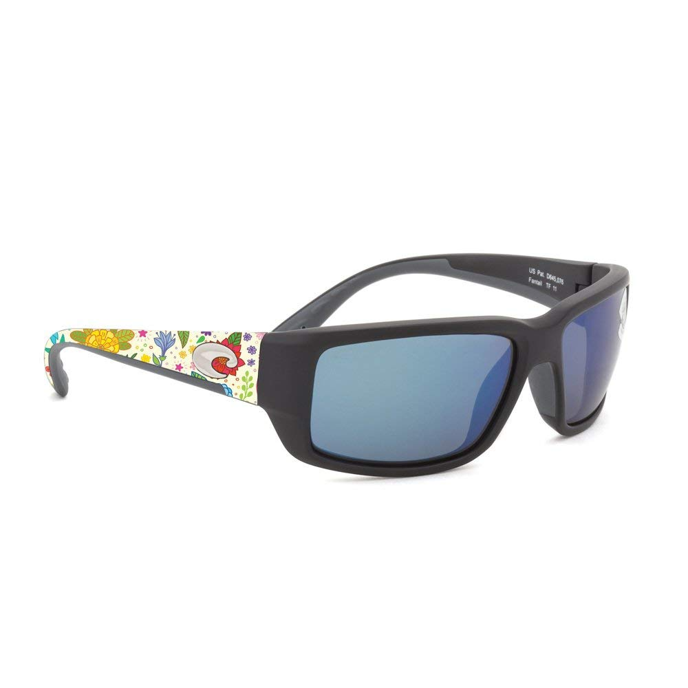84ab5f2a788 Get Quotations · MightySkins Skin Costa Del Mar Fantail Sunglasses - Flower  Garden
