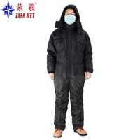2019 clothing New design cold clothing OEM Custom Made Cold Room Storage Freezer Winter Wear Coveralls Suit Clothing