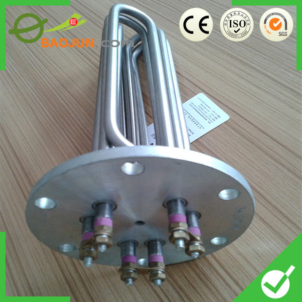resistance 6kw heating element for flange water heaters