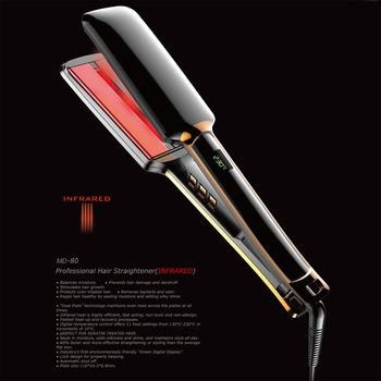 Professional Fast MCH Hair Straightener Electric Straight Hair Iron with infrared function