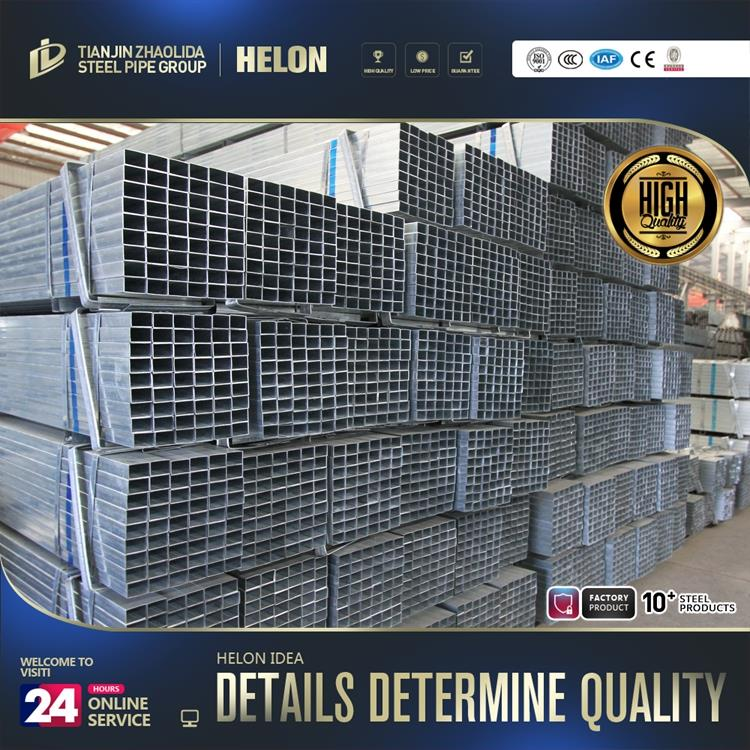 New design square galvanized fence posts for wholesales