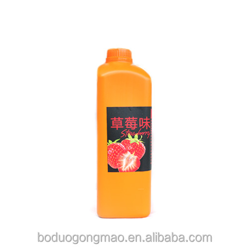 Chinese Manufacturer Strawberry Concentrated Juice Wholesale Price