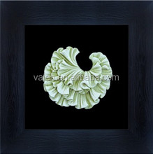 Plastic Framed Sea Shell 3D Wall Painting