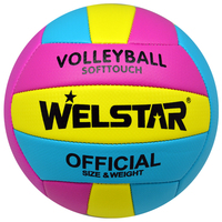 Wholesales Size 5 Soft Touch Outdoor Indoor or Outdoor Uniform Design Beach Volleyball