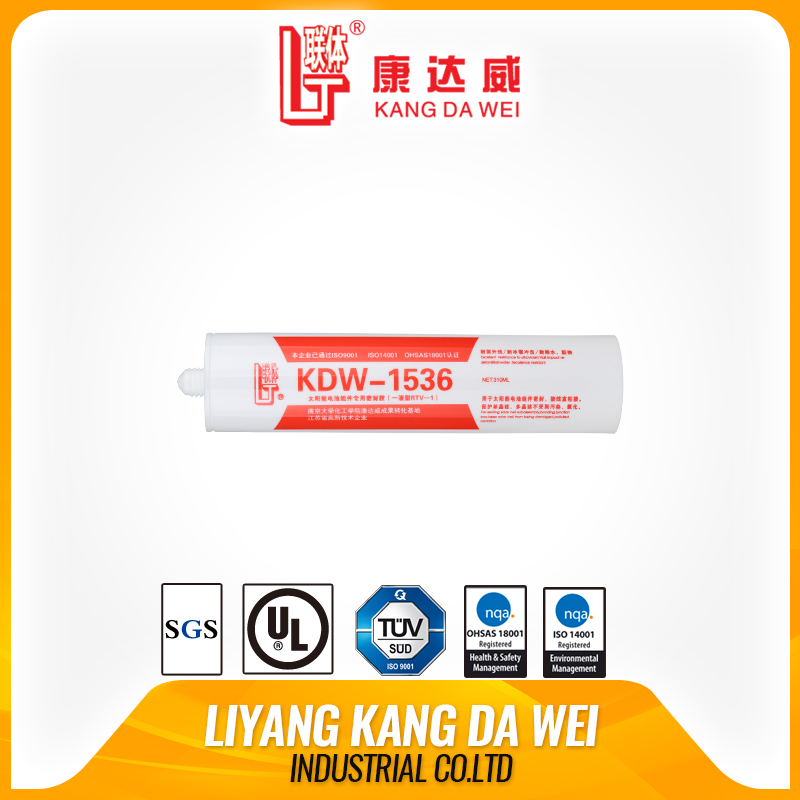 RTV aging resistance silicone rubber silicone to metal bonding for Solar Panel Modules high temperature resistance