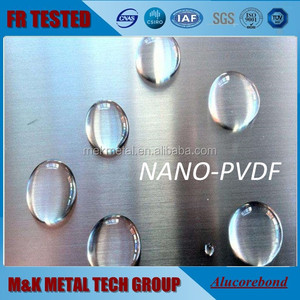 fire rated nano pvdf self-cleaning aluminum core/honeycomb/corrugated/sandwich composite panel/ACP/ACM