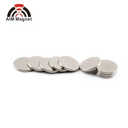 N52 1/2 inch Nickel-coating Neodymium Disc Magnet Manufacturer