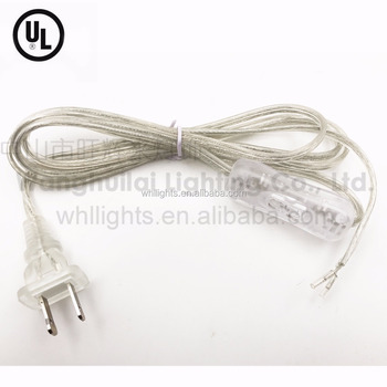 Ul Listed 2 Pin American Polarized Plug Power Cord With Plug - Buy ...